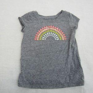👶Cat & Jack baby girls rainbow print t-shirt 👶